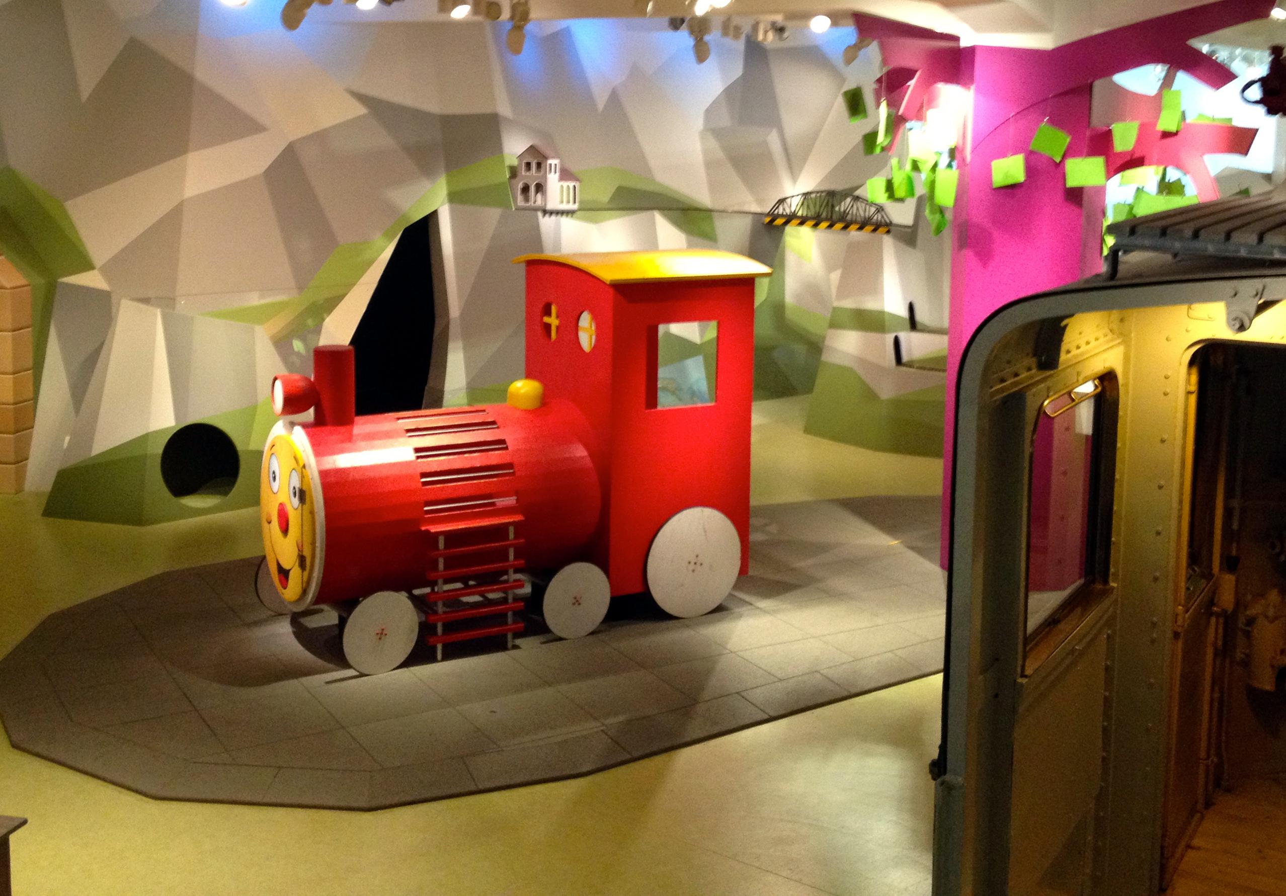 kwod_Ausstellung_Deutsche Bahn_Museum_N ürnberg_Dauerausstellung_KIBALA_Lok